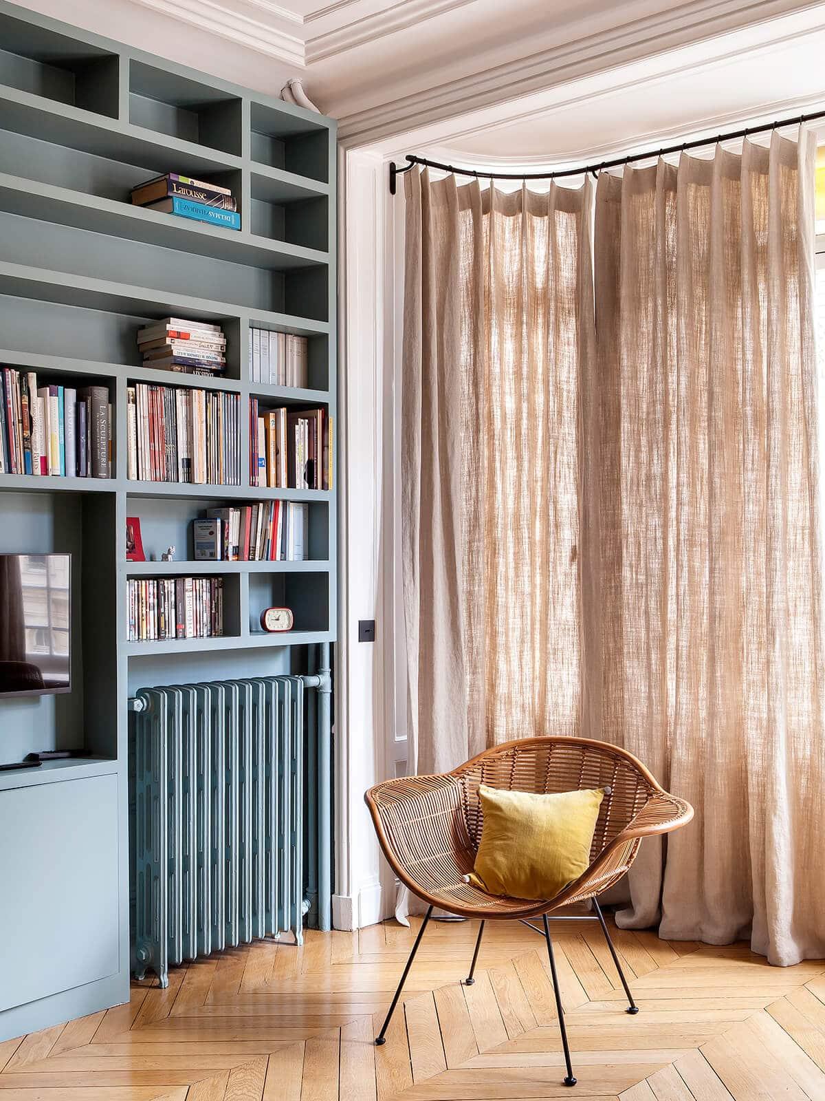 Appartement Haussmannien Camille Hermand architectures